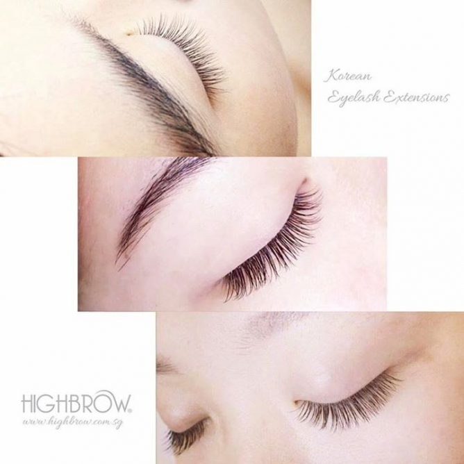 Highbrow Glow With Natural Korean Lash Extensions 50 Discount For