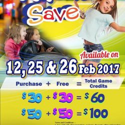 [Timezone] Game on @ Timezone this weekend 25-26 Feb 2017 with Time to Save Promotion !