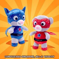 [Candylicious] Feeling blues from the post-CNY feasting? No worry! Candylicious Super Cat and Bear is here to save the day