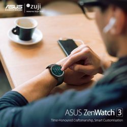 [Marina Square] Access info on the go with the ASUS ZenWatch 3!