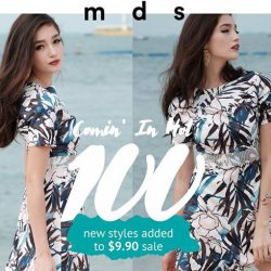 [MDSCollections] Final clearance continues! 100 new pieces added to $9.90 sale Shop now at Chevron House, Jurong Point, Bedok Mall