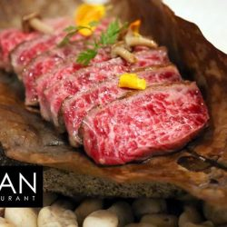 [The Clan Restaurant] Nothing sounds better this friday night than the sound of Juicy thick slices of perfectly marbled wagyubeef loin, laid upon