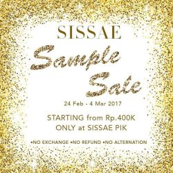 [Sissae] Sissae 1st sample sale ✨ don't miss it!