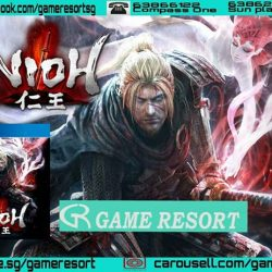[GAME RESORT] PS4 NIOH,Koei Tecmo and Team Ninja team up to create a brand-new, authentic samurai story exclusively for PlayStation