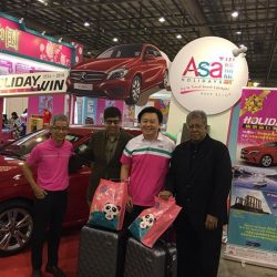 [ASA Holidays] Good morning friends of ASA holidays!Today is the last day of the NATAS travel fair so do remember to