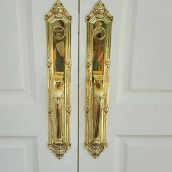 [Equip - Design] Why wait? We have many selections of door locks And accessories that marry security & beauty for your grand entrance and