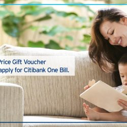 [Citibank ATM] Enjoy hassle-free automatic monthly bill payment service with Citibank One Bill and earn rewards as you pay. Plus, receive