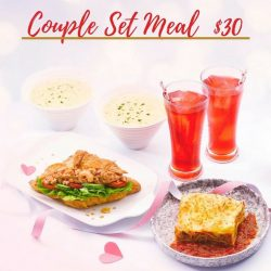 [Delifrance Singapore] Try the best Couple's meal for just $30 and get two pieces of Essence De L'amour free!