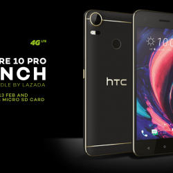 [Lazada Singapore] HTC Desire 10 Pro is exclusively on Lazada! Order by 13 Feb and get a FREE 32GB MicroSD Card!