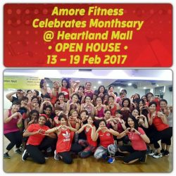 [Amore Fitness] Dance your way to a great weekend in red with our Monthsary celebration! 💃2 days left of exclusive workouts and