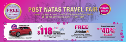 [ASA Holidays] Thank you once again for your support at last weekend's NATAS Travel Fair! It was a pleasure serving you
