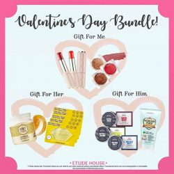 [Etude House Singapore] Celebrate the Seasons of Love with these gift sets for everyone! ❤️ • Gift for me • Purchase 3 or more Dear My