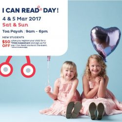 [I Can Read®] QUIZ TIME!In honour of I Can Read Day at our Toa Payoh Centre, we will be sponsoring another one