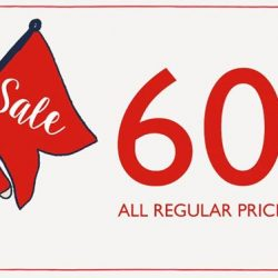 Cath Kidston: Enjoy 60% OFF All Sale Items in Cath Kidston Stores