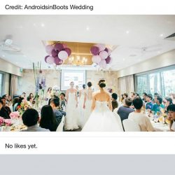 [THE FELINE BRIDAL] Thank you for choosing us as your wedding partner Singapore Brides ! Visit us at #04-5k Nex serangoon Wedding promotion ,