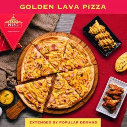 [Pezzo Pizza SG] Haven't tried our Golden Lava Pizza yet?