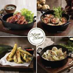 [Miam Miam French.Japanese Cafe.Kitchen] WIN A SET OF 4 SMALL BITES FROM MIAM MIAM!
