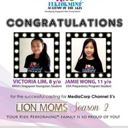 """[Kids Performingâ""""¢ Academy of the Arts] Kids Performing is so proud of Victoria and Jamie for the successful casting for #LionMomsSeason2 🎉🎊 - Want to be part of"""