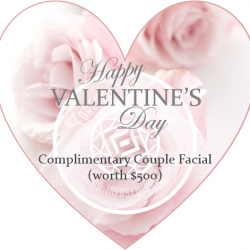 [Forever Flawless Singapore] Here's our Valentine's gift for everyone!Spend $500 and above, and you can get a COMPLIMENTARY COUPLE FACIAL
