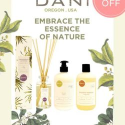 [Bud Cosmetics] Enjoy 15% OFF ALL Dani Naturals Products (excludes travel sizes). Offer ends 28 Feb.Inspired by the beauty in Bend