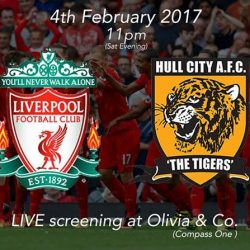 [Olivia & Co] EPL NIGHTS AT OLIVIA COMPASS ONE Calling all Liverpool fans! TOMORROW, 11pm, come join us at Compass One! Tag someone