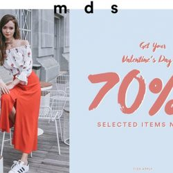 [MDSCollections] 60 over products added to 70% off. Consider your Valentine's Day outfit done!Shop the promo via the link