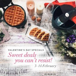 [ToTT Store] Shop for your Valentine's Day gift with our wide selection of sweet deals - from champagne coolers to waffle makers,