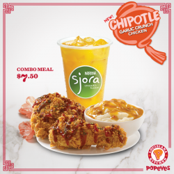 [Popeyes Louisiana Kitchen Singapore] Gotta love that garlicky goodness. Snap up this deal before it ends!