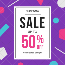 [Fashion Loft] Chase your Monday blues away with our in-store sale! Save 50% off our selected designs. What are you waiting