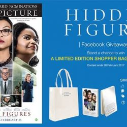 [Filmgarde Cineplex] Stand a chance to win HIDDEN FIGURES movie premiums!How To Participate 1. Like this post 2. Share this post