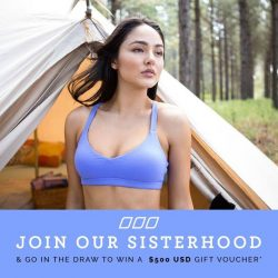 [Lorna Jane] Have you joined our sisterhood yet? You'll stand a chance to win a US$500 voucher! Hurry and send