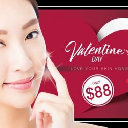 [HAACH] Valentine's Day Pair Deal for all our HAACH fans! Enjoy a pampering Ladies Dream Classic Facial Treatment (or choice
