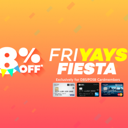 [Lazada Singapore] DBS Friyays Fiesta! Cardmembers get to enjoy 8% off with code 'DBSFIESTA' 🎉