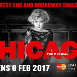 "[SISTIC Singapore] Broadway smash hit ""Chicago"" is back in Singapore! Set in the roaring decadence of the 1920s, the award winning musical"