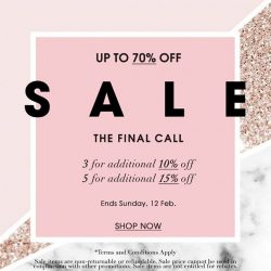 [LaPrendo] The final call. Get up to 70% + 15% off our sale!Shop it here: bit.ly/FinalReductionsNowOn#designersale #retailtherapy #sale