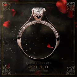 [ORRO Jewellery] ORRO embraces St. Valentine's Day with Hope, Love & Optimism. Visit any ORRO outlets today to select an exclusive gift