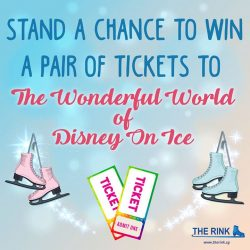 [THE RINK] Hey Disney fans, do not miss the last chance to win yourselves a pair of free tickets to this year'