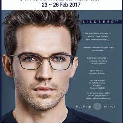 [Optique Paris-Miki] LINDBERG TRUNK SHOW, EXCLUSIVELY @ HOLLAND ROAD SC23 to 26 Feb 2017 Events / February 16, 2017LINDBERG eyewear tells the