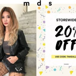 [MDSCollections] How about getting 20% off storewide, online and in-stores to kick-off the week? Use code TAKEALL20 today till