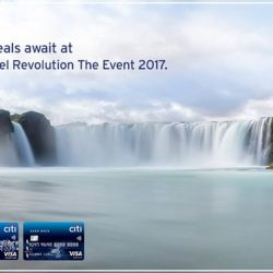 [Citibank ATM] Head down now to Travel Revolution The Event 2017 for exciting holiday deals. Book your packages with any Citi Credit