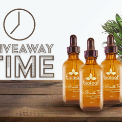 [VENUS BEAUTY] Like and share for a free full sized bottle of Bioleaf Hair Growth Tonic 60ml worth $49!