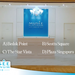 [Musee Platinum] We currently have 7 outlets island wide, but the question is, can you identify which is which? Take a guess