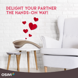 [OSIM] Delight your partner the hands-on way! Treat your loved one to quick relief from sore and aching muscles with