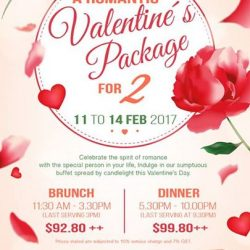 [Momiji Japanese Buffet Restaurant] Celebrate the spirit of romance with the special person in your life, Indulge in our sumptuous international buffet spread by
