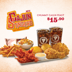 [Popeyes Louisiana Kitchen Singapore] Ahem… Stop drooling and snag this delicious deal today!