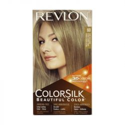 [VENUS BEAUTY] Revlon ColorSilk 60 Dark Ash Blonde S$5.90 Long lasting color + shine Durable 100% gray coverage Ammonia Free