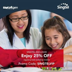 [Singtel] Learn to build a website, make a short movie or create an app! Sign your child up for Mediacorp's