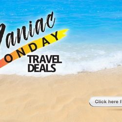 [ASA Holidays] Are you crazy about discounts, promotions and deals? Our Maniac Monday travel deals is finally out! Check them out @ <http://