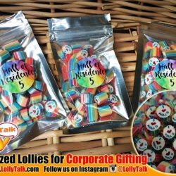 [Lolly Talk] LollyTalk's handcrafted lollies for corporate gifting. Great idea for corporate cum marketing needs such as roadshow giveaways, seminar door