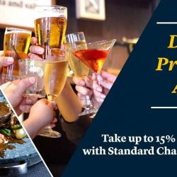 [Harry's Bar] Pair your bar and dining adventure with Standard Chartered bank's privileges!